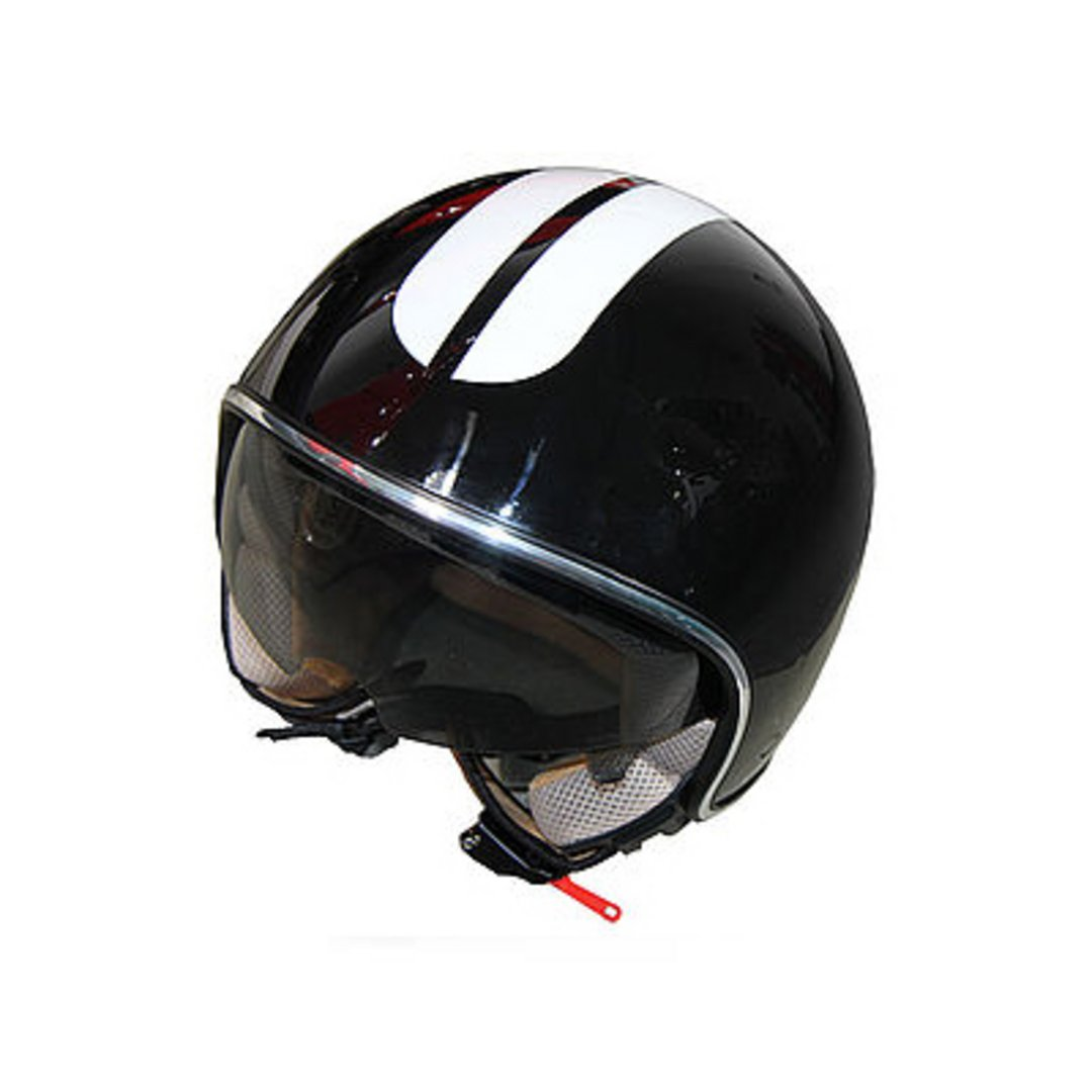 Helmet for electric scooter accessories in black